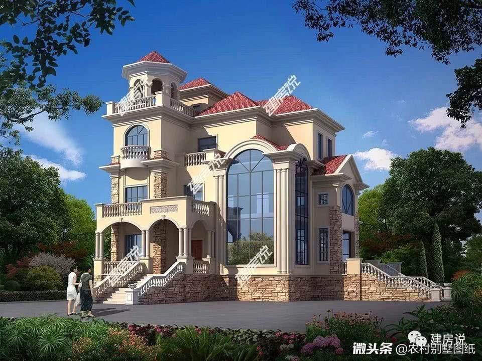 100款最新农村别墅设计图,风格齐全 建议收藏