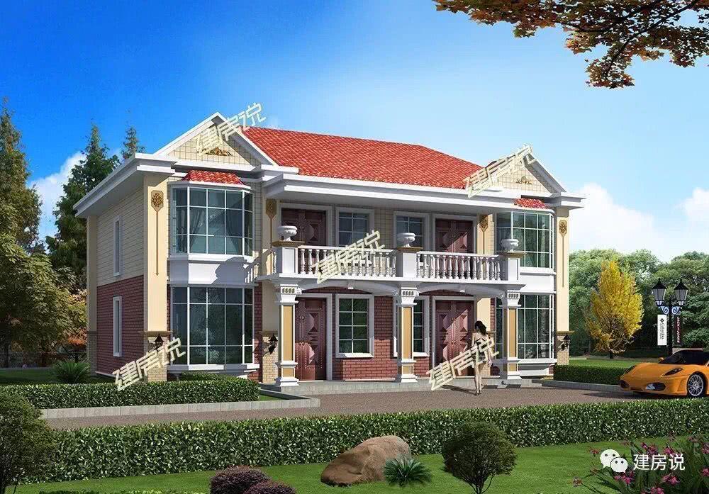 【建房说】100款最新农村别墅设计图,风格齐全!建议