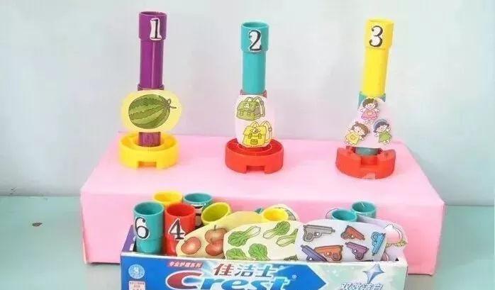 幼儿园老师自制教玩具手工制作