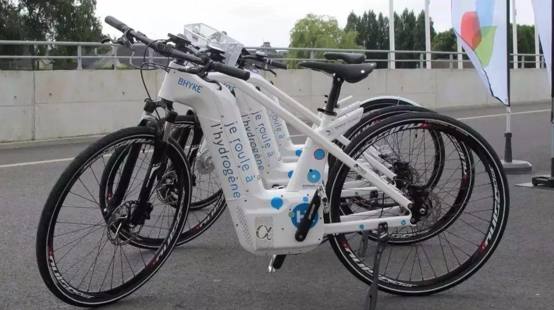 世界首款氢能源电动自行车,充能两分钟续航百公里!图片