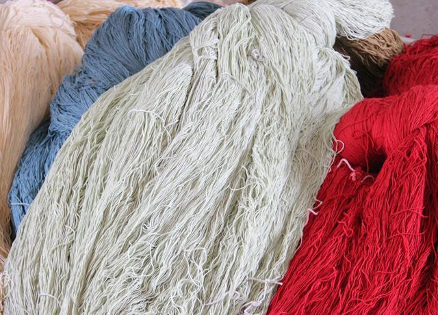 手工真丝地毯的编织方法和染色工艺