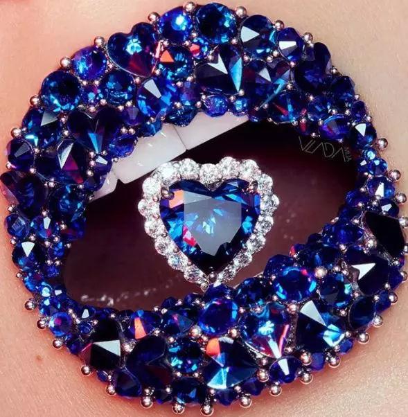 分享一組極具創意的藝術唇妝,驚