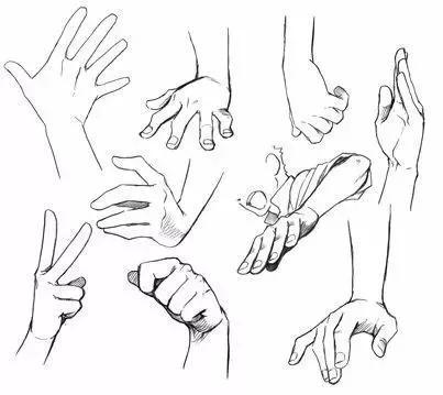 教育 正文  · 握在一起的手 · 很常见的一种手势动态 基本出现自