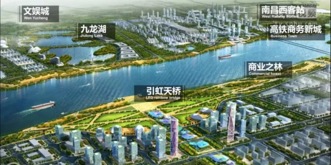 钟祥市新城区规划图