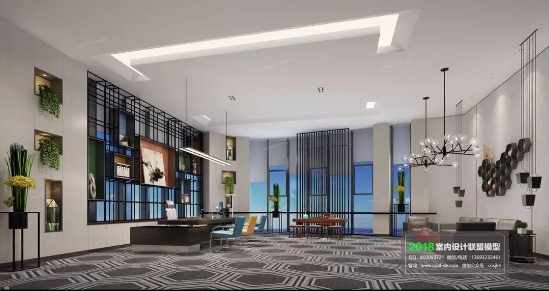 最后一周:八折预订室内设计联盟2018年新模型室内设计师熙子天空之城图片