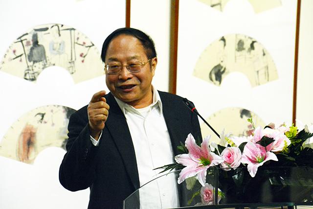 赵晓峰水墨小品清赏太原艺博馆开展