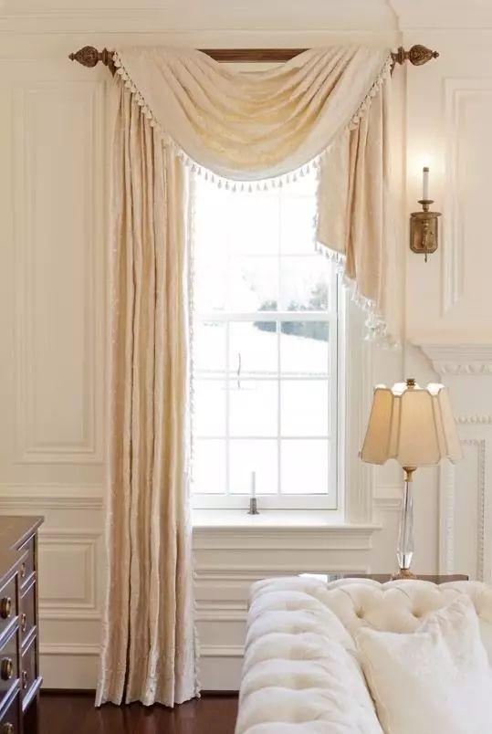 看了这么久的窗帘,这些窗幔款式你见过吗?
