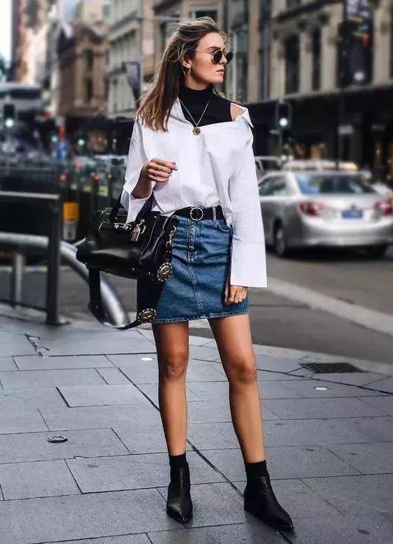 短裙样式设计图