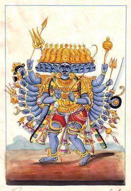 神话 古印度神话九大神魔排行榜 个个三头六臂 比孙悟空都厉害