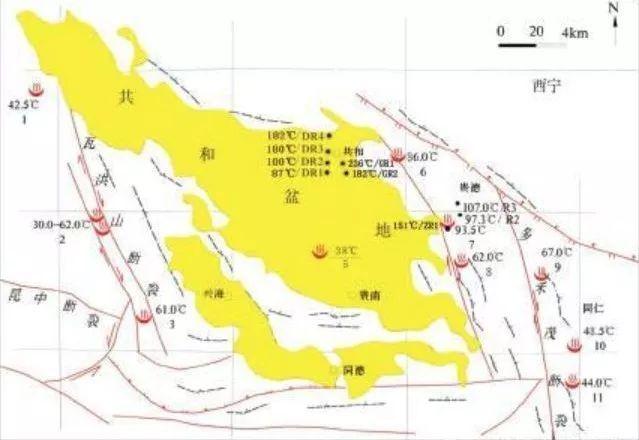 撞见�y.��`m���_青海共和盆地发现干热岩,深度3705m,温度高达236℃