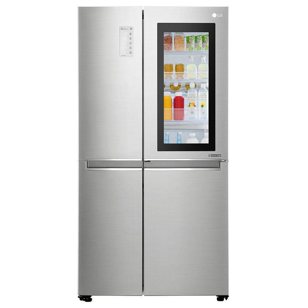 LG InstaView透视窗门中门冰箱:真•高端冰箱了解一下_福彩