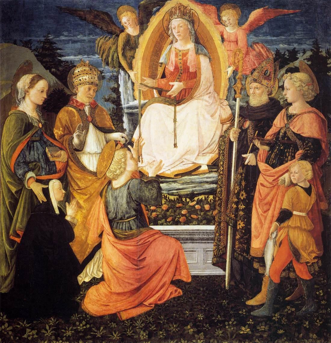 西方油画大师有哪些_西方油画欣赏(2)大师笔下的圣母子美爆了(中)