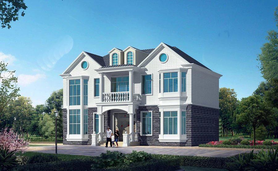 两间二层别墅设计图