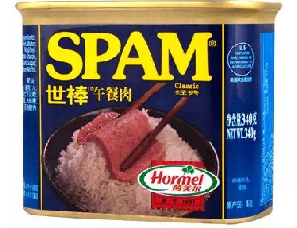 SPAM午餐肉罐头