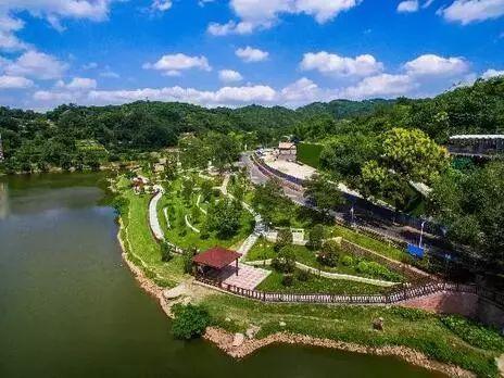 龙泉山城市森林公园接近两图片