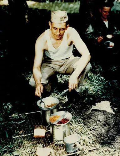 二战美军烹饪午餐肉罐头