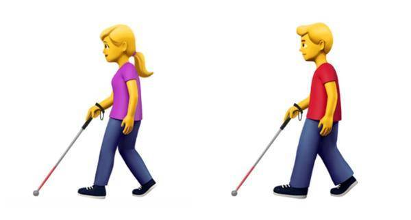 填补空白,苹果为残障人士带来了 13 个 emoji 表情图片