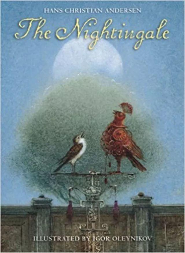 为安徒生作品《插画》绘制的夜莺书春天里的小田鼠动画片图片