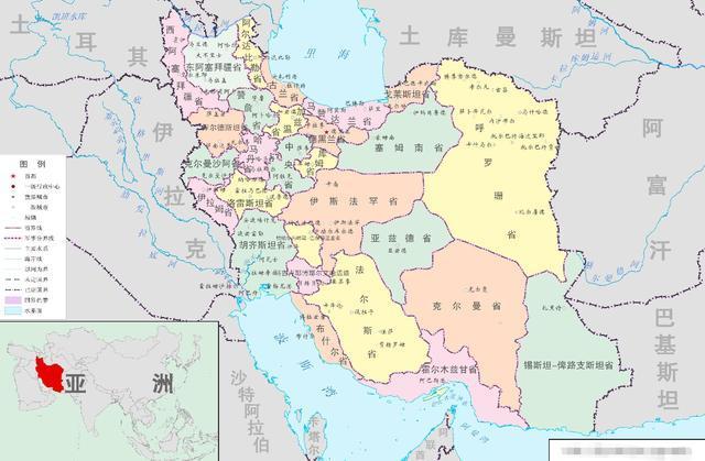 伊朗全国总面积超过164万平方公里,是中东地区除沙特外的第二大国图片