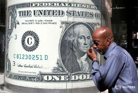 外汇-美元跌至5周低点 欧元兑美元升至5周高点