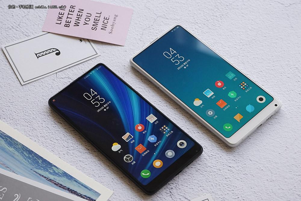 黑的纯粹/白的a科技科技mix2s小米对比_搜狐双色_的手机有雪图片