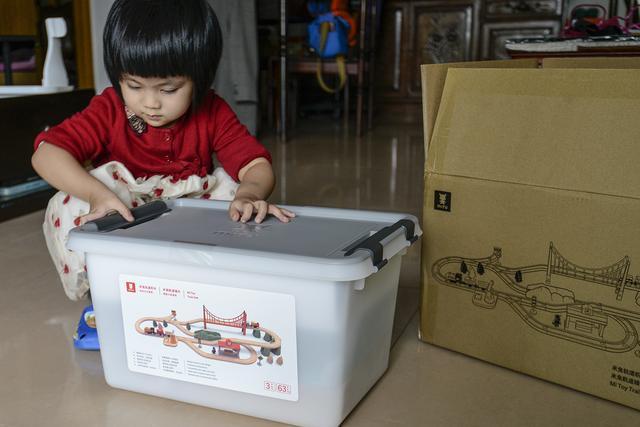 玩出孩子独立思维大脑 米兔轨道积木电动火车套装分享
