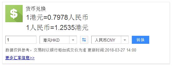 港纸人民币汇率跌破7字头,创33年来新低!现在去香港买东西几乎等于打7折!