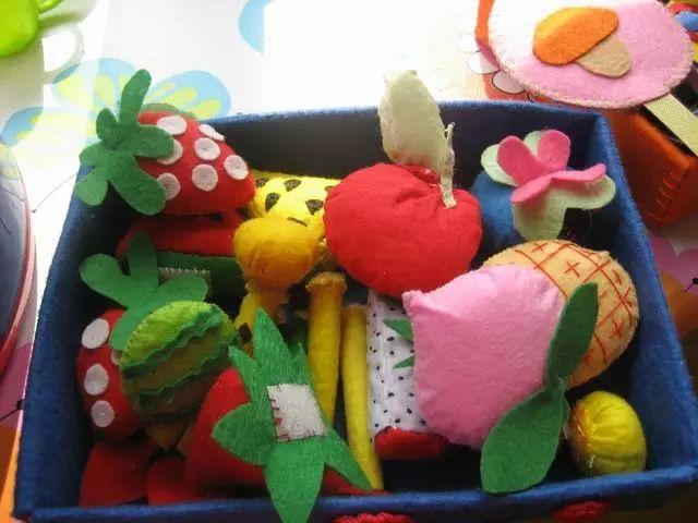 【手工环创】幼儿园布艺手工制作,手工,进卡,吊饰,玩