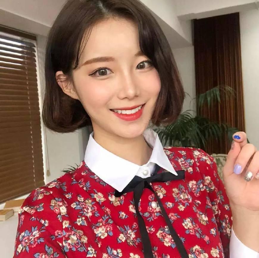 """2018流行""""内扣短发"""",最瘦脸的发型!图片"""