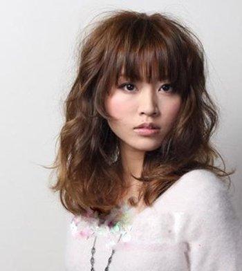 2018超瘦脸的女生刘海发型来袭,大脸妹子福音!