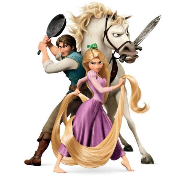 电影经典对白 |《长发公主》唯美的格林童话故事图片