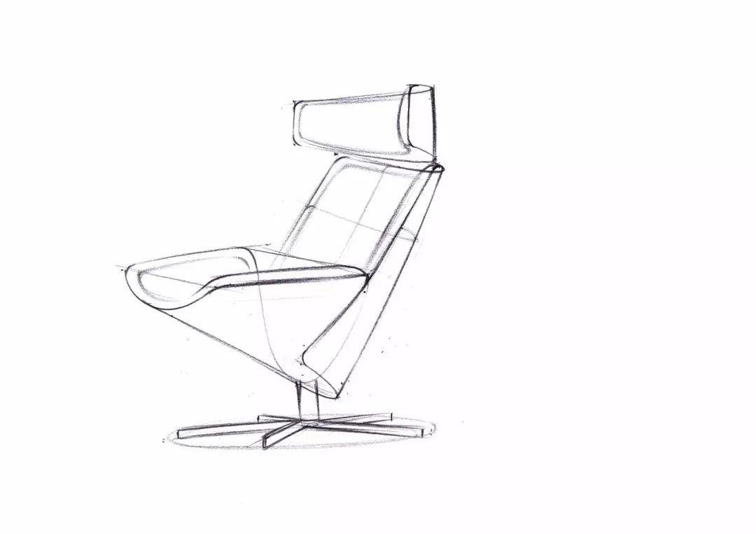 家具 简笔画 手绘 线稿 椅 椅子 1080_763