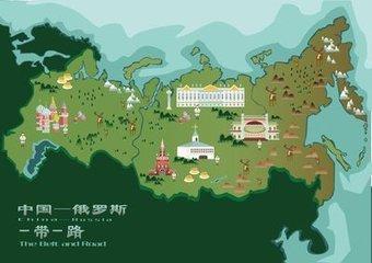 """武汉大学生手绘""""一带一路""""城市地图"""
