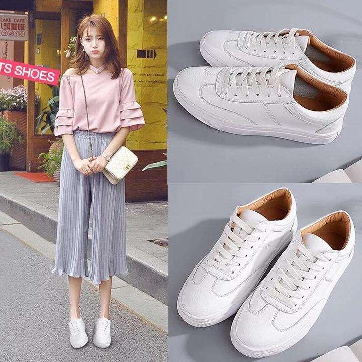 小白鞋鞋带的系法图解 让你一双小白鞋当三双穿
