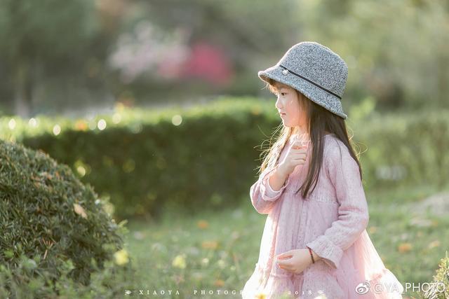 春天来了,上海妈妈自己为女儿拍写真,丸子同学放课后