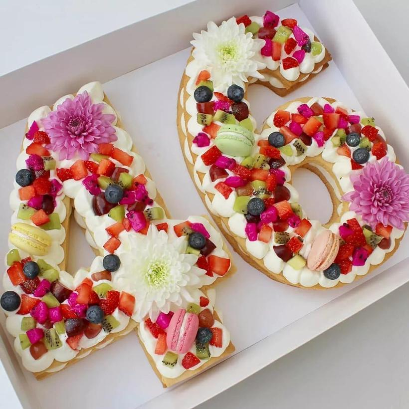 蛋糕,颜值,美味,健康,一个也不少,在ins上吸引了一大批粉丝的关注图片