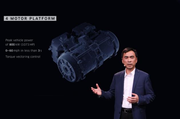 SF MOTORS全球发布会 硅谷造车新势力