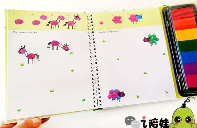 用印章会发现原来只需要4步就可以画出萌萌的小蜜蜂哦图片