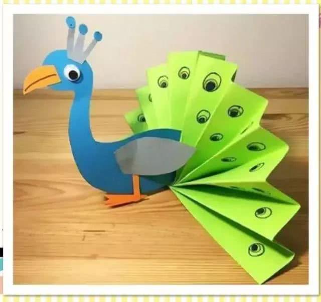手工福利,简单实用的制作创意卡纸动物方法!保证让萌童大爱!