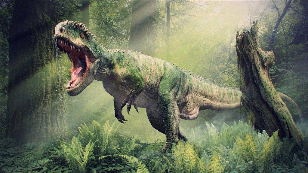 《侏罗纪公园》里奔跑的恐龙图片