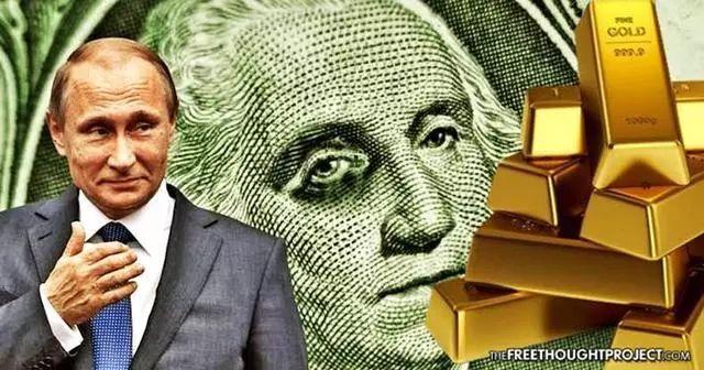 美国不计成本抛售巨量黄金,俄罗斯却狂买黄金,是巧合还是被操纵