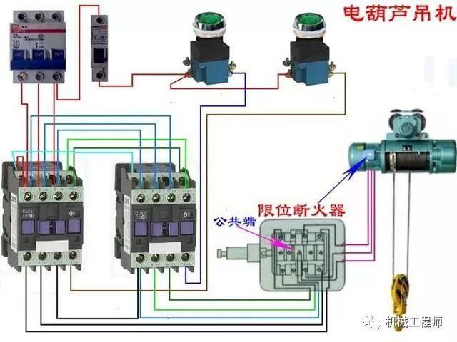 一百多种电路接线图,开关,断路器,电机,电表,非常值得