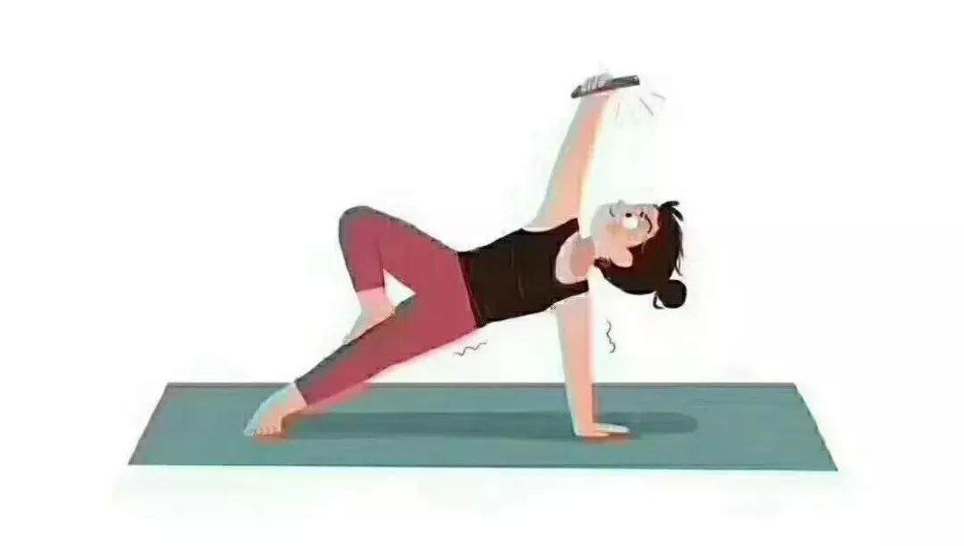 时间久了手臂很累 来个瑜伽鸽子式后弯 核心力量差手肘支撑 30秒就倒?图片