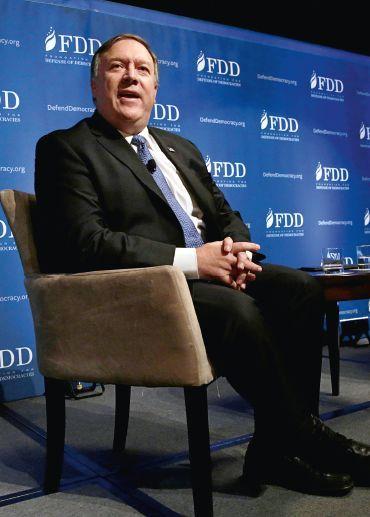 美国新国务卿蓬佩奥:比特朗普还要特朗普