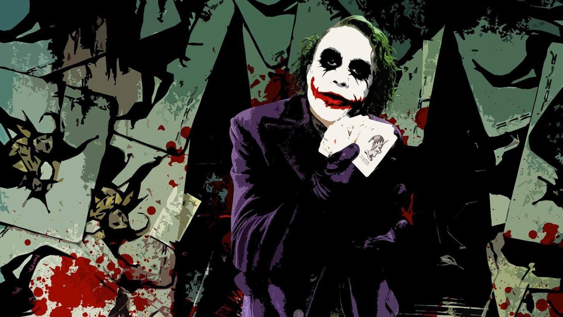 小丑:dc旗下最有魅力的犯罪者,只为犯罪所以反派图片