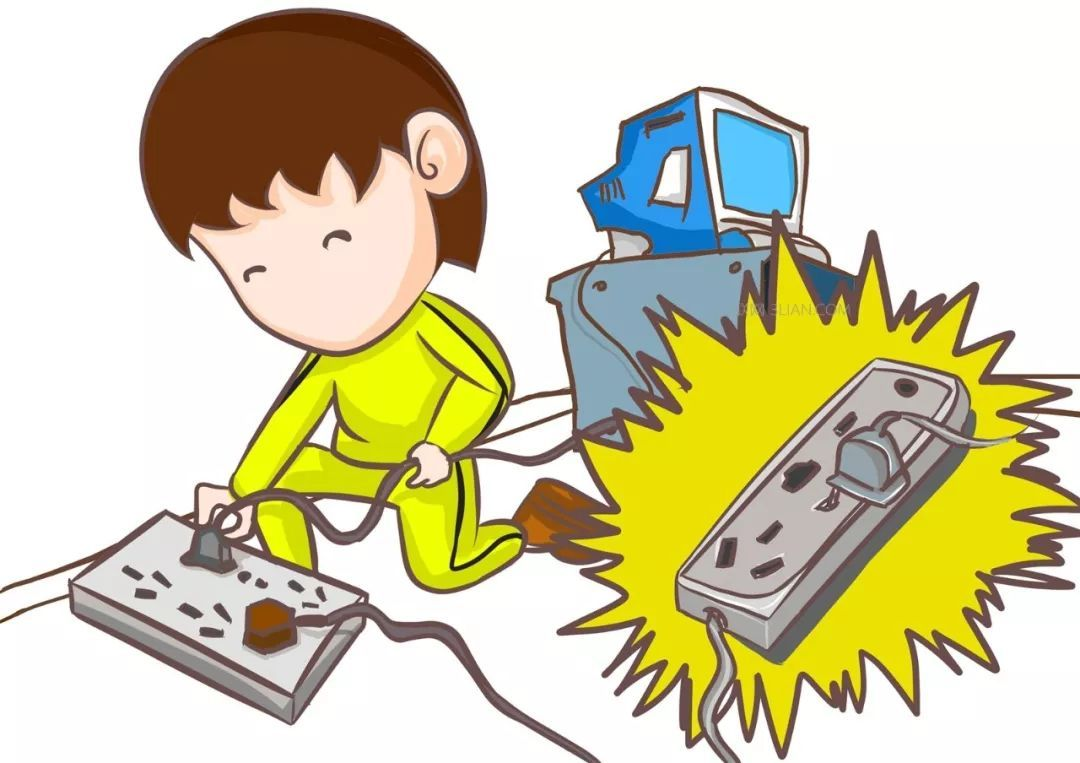 2,不用手或导电物(如铁丝,钉子,别针等金属制品)去接触,探试电源插座图片