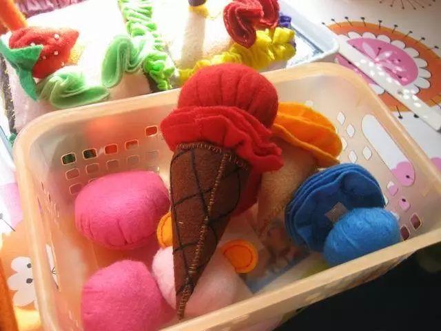 幼儿园布艺手工制作,手工,进卡,吊饰,玩教具全都有!
