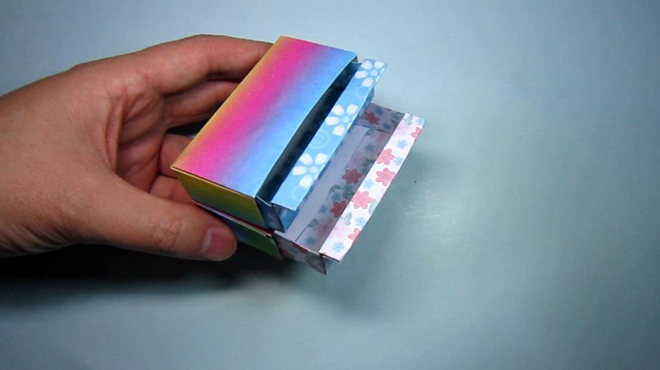 实用小抽屉折纸,多层小抽屉的折法视频,diy手工制作