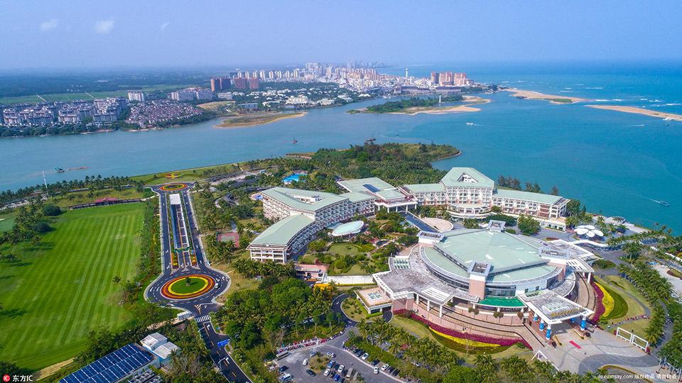 搭建完成博鳌亚洲论坛2018年年会将于4月8日-11日在海南省博鳌镇召开