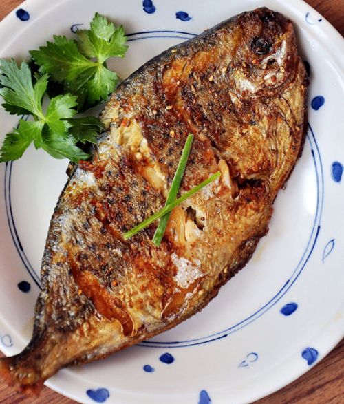 鲳鱼茴香午餐儿童v鲳鱼:香煎做法的食谱营养土豆吃馅图片